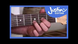 A, D and E Chords - Easy Chord Changes Using Anchor Fingers - Beginner Guitar Lessons [BC-114]