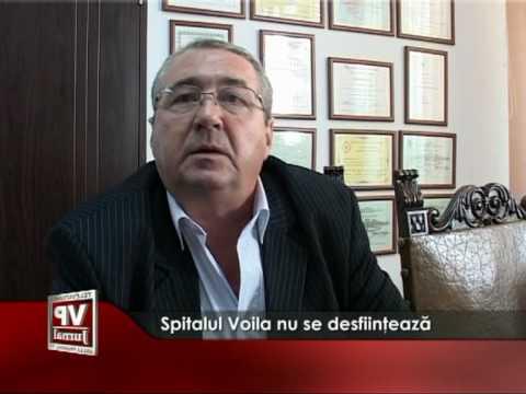 Spitalul Voila nu se desfiinţează