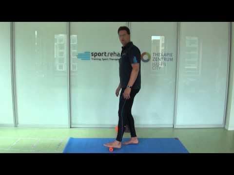 Blackroll Übungen für Einsteiger: Fußsohle - Plantarfaszie