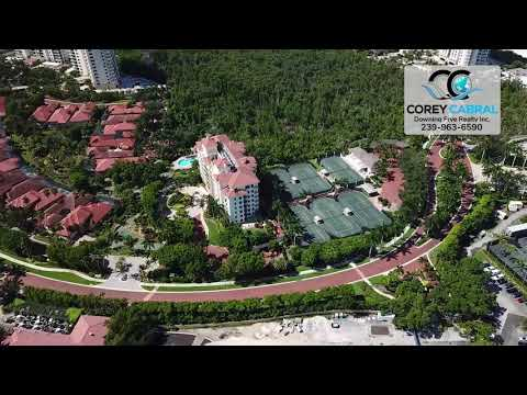 Bay Colony Mansion La Palma Naples Florida 360 degree fly over video