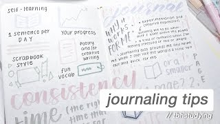tips and tricks for journaling