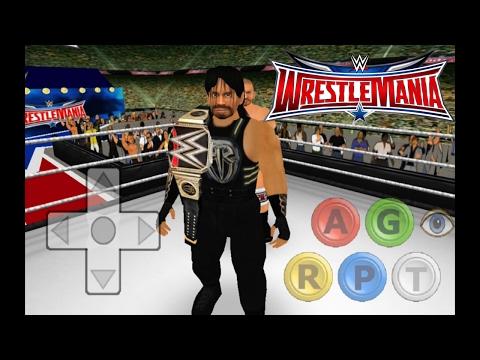 Wrestling Revolution 3d Roman Reings Vs The Rock - смотреть