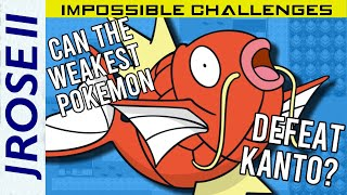 Magikarp  - (Pokémon) - Is it Possible to Beat Pokemon FireRed/LeafGreen with Only Magikarp? - Pokemon Challenge