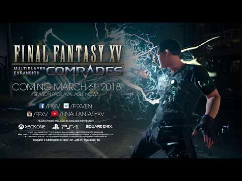 Mise à jour Frères d'armes - mars 2018 de Final Fantasy XV