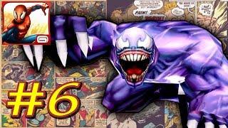 Прохождение Ultimate Spider-Man Total Mayhem HD уровень 6 [перевод] iOs