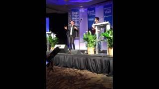Chris Jamison performs Velvet for VisitPITTSBURGH Annual Meeting
