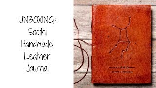 UNBOXING: Soothi Handmade Leather Journal