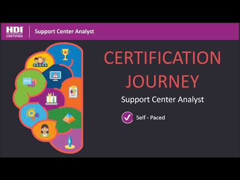 HDI Support Center Analyst Course Overview - YouTube