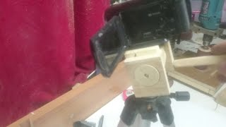 как сделать штатив (поворотный механизм ) для  видеокамеры из  триноги  лазерного уровня.   https://youtu.be/pBgZdV3hfAw