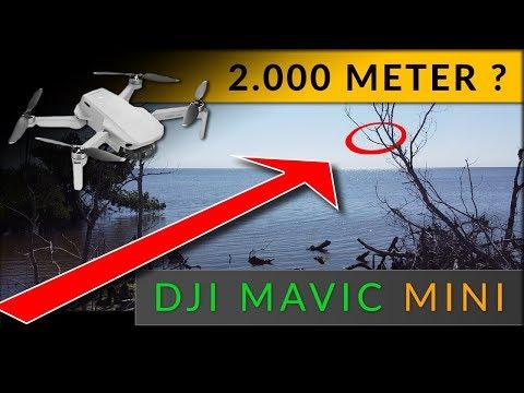 DJI Mavic MINI: 2000m Reichweite & Flugzeit Test [ CE / deutsch ]