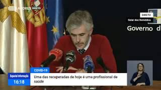 03/05: Ponto de Situação da Autoridade de Saúde Regional sobre o Coronavírus nos Açores