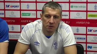 Максим Горбунов - Суперлига. 11 тур. Динамо-Самара - Синара. 2-2 - второй матч