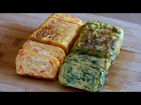 Assorted Tamagoyaki Recipe – Japanese Cooking 101