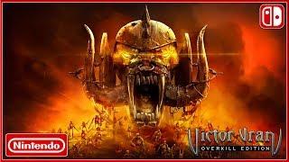 VICTOR VRAN - Nintendo Switch Victor Vran In 60 Seconds Launch DATE Trailer (2018) HD