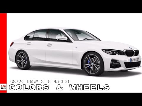 2019 BMW 3 Series 330i M340i Colors & Wheels