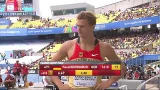 Pascal Behrenbruch 2011 World Championship- Daegu