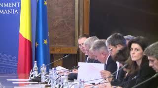 11/28/19 Declarații susținute de premierul Ludovic Orban la începutul ședinței de guvern