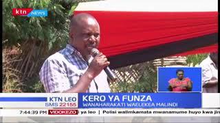 Wanaharakati waelekea Malindi kwa minajili la Kero la funza