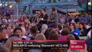 Joshua Radin - I'd Rather Be With You (Live Sommarkrysset 2010)