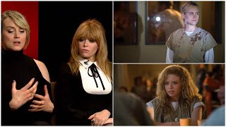 Taylor Schilling and Natasha Lyonne discuss Season 5 of  OITNB on Netflix