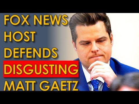 Matt Gaetz DEFENDED By Fox News Host Kat Timpf despite disgusting details