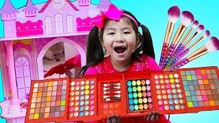Jannie Pretend Play Sewing Princess Dress Up & Makeup Toys