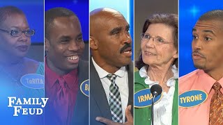 ALL-TIME GREATEST MOMENTS in Family Feud history!!! | Part 6 | The CRAZIEST folks Steve met!