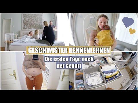 Das erste Kennenlernen 😍 Mein Wochenbett & Baby kuscheln | Isabeau