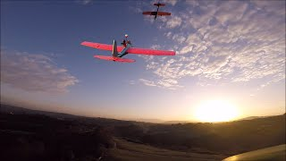 Lidl Chuck glider twin motor vs Lidl Chuck glider FPV chase