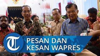 Jokowi Sampaikan Terima Kasih ke Wapres dan Para Menteri, JK: Semuanya Menarik