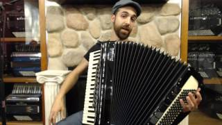 How to Play Piano Accordion - Introduction for First Time Accordionist, Components, Basics