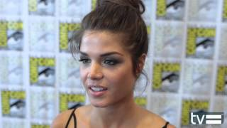 The 100 / The Hundred / Сотня, Marie Avgeropoulos Interview - The 100 (CW) Season 2