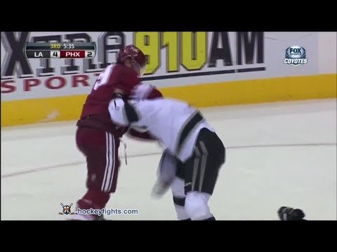Shane Doan vs. Mike Richards