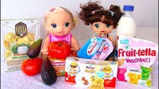 Куклы Пупсики ЧТО КУПИЛА МАМА В МАГАЗИНЕ Мультик  Для девочек Сюрпризы Киндер Джой Для детей