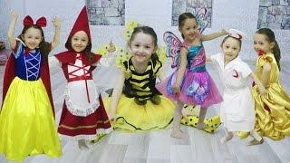 Download Video Öykü'nün Kostüm Partisi - Pamuk Prenses Winx Kırmızı Başlıklı Kız Hemşire Arı Maya Prenses Bella MP3 3GP MP4