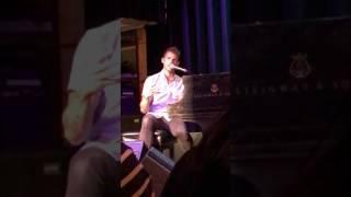 Jon McLaughlin - intro to Amelia's Missing - #IndianaTour2017 Boston MA