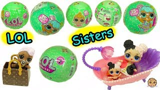 LOL Surprise  Lil Sisters Series 2 !! Baby Dolls Blind Bag Color Change Video ?