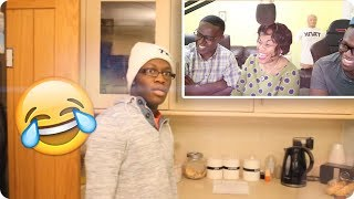REACTING TO OLD VIDEOS WITH MY MUM AND DAD
