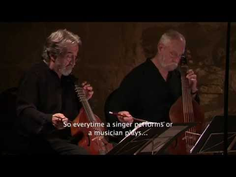 JORDI SAVALL, MUSICIEN DE LA PAIX. La Musique Histoire vivante.