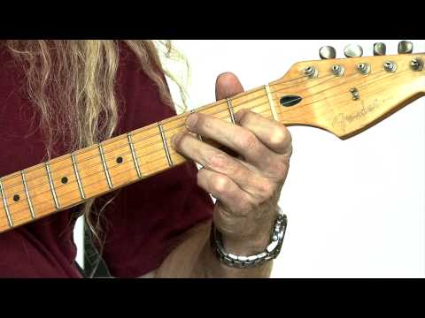 How to play F Minor Scale learn Guitar Free Lessons