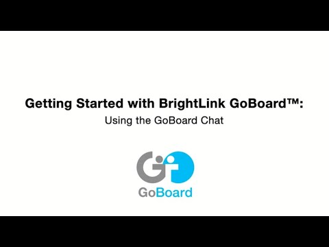 #11 Using the GoBoard Chat