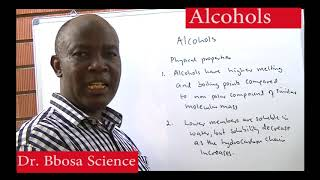 Alcohols part 1 of 2 properties and synthesis