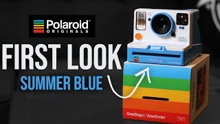 Polaroid OneStep 2 | Summer Blue | New Color