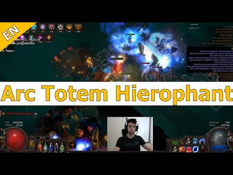 [3.8] Arc Totem Hierophant: a solid option for those who enjoy Totems