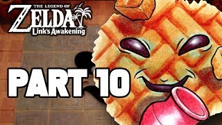 Legend of Zelda Link's Awakening Switch Gameplay Walkthrough Part 10 - FULL GAME -  NEW SWITCH GAME