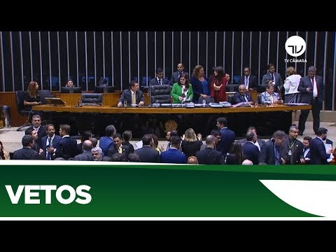Sessão do Congresso é suspensa sem analisar vetos - 10/03/20