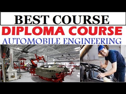 How to do Automobile Engineering Course   Diploma Course   ITI ...