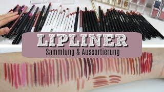 LIPLINER SAMMLUNG & AUSSORTIERUNG   Ich Swatche Alle Für Euch
