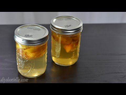 How to Make Peach Infused Liquor