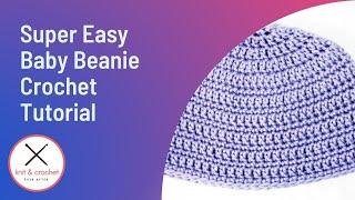 Super Easy Baby Beanie Free Pattern Workshop